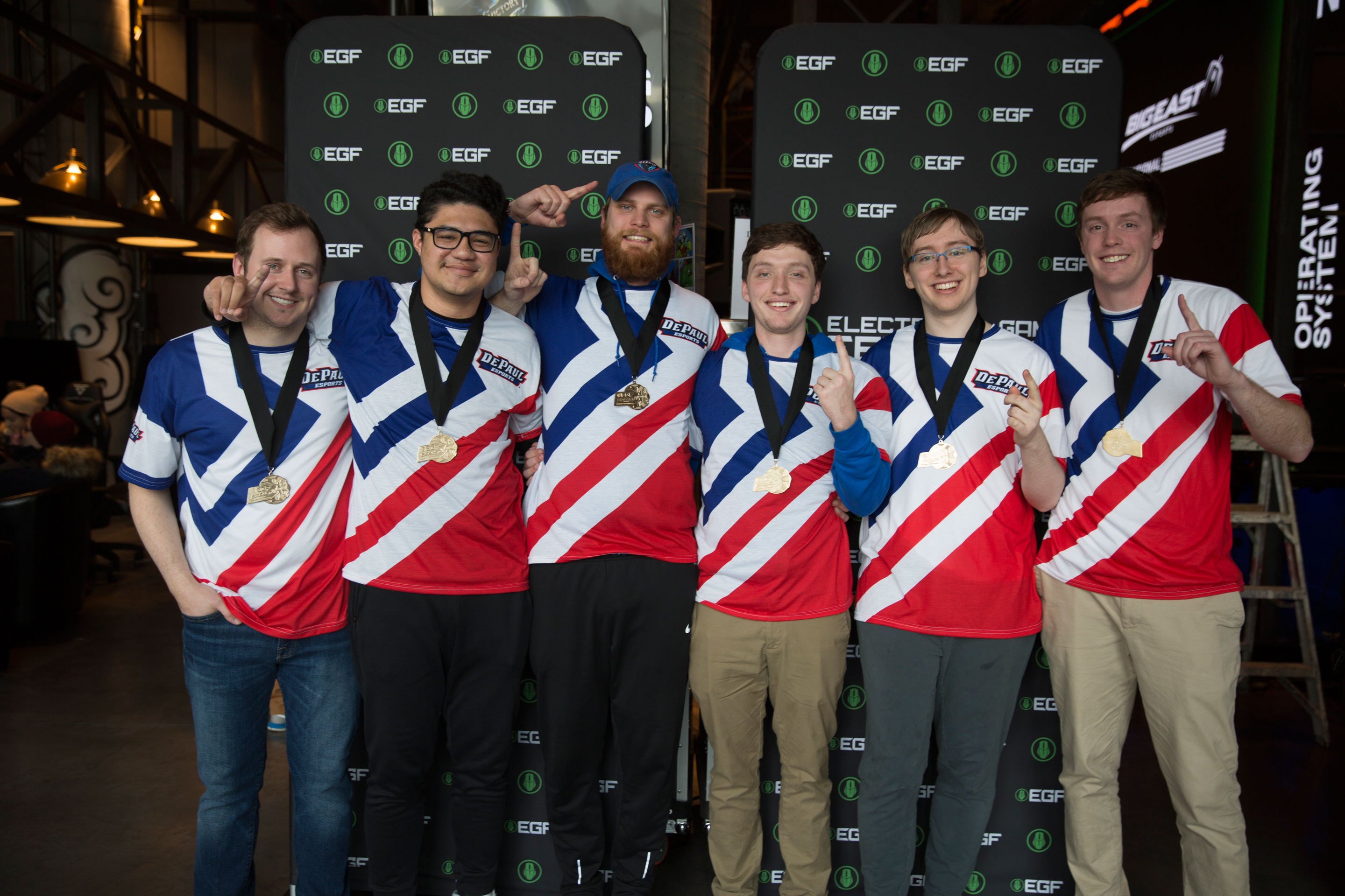 DePaul Esports Captures a Pair of Big East Titles