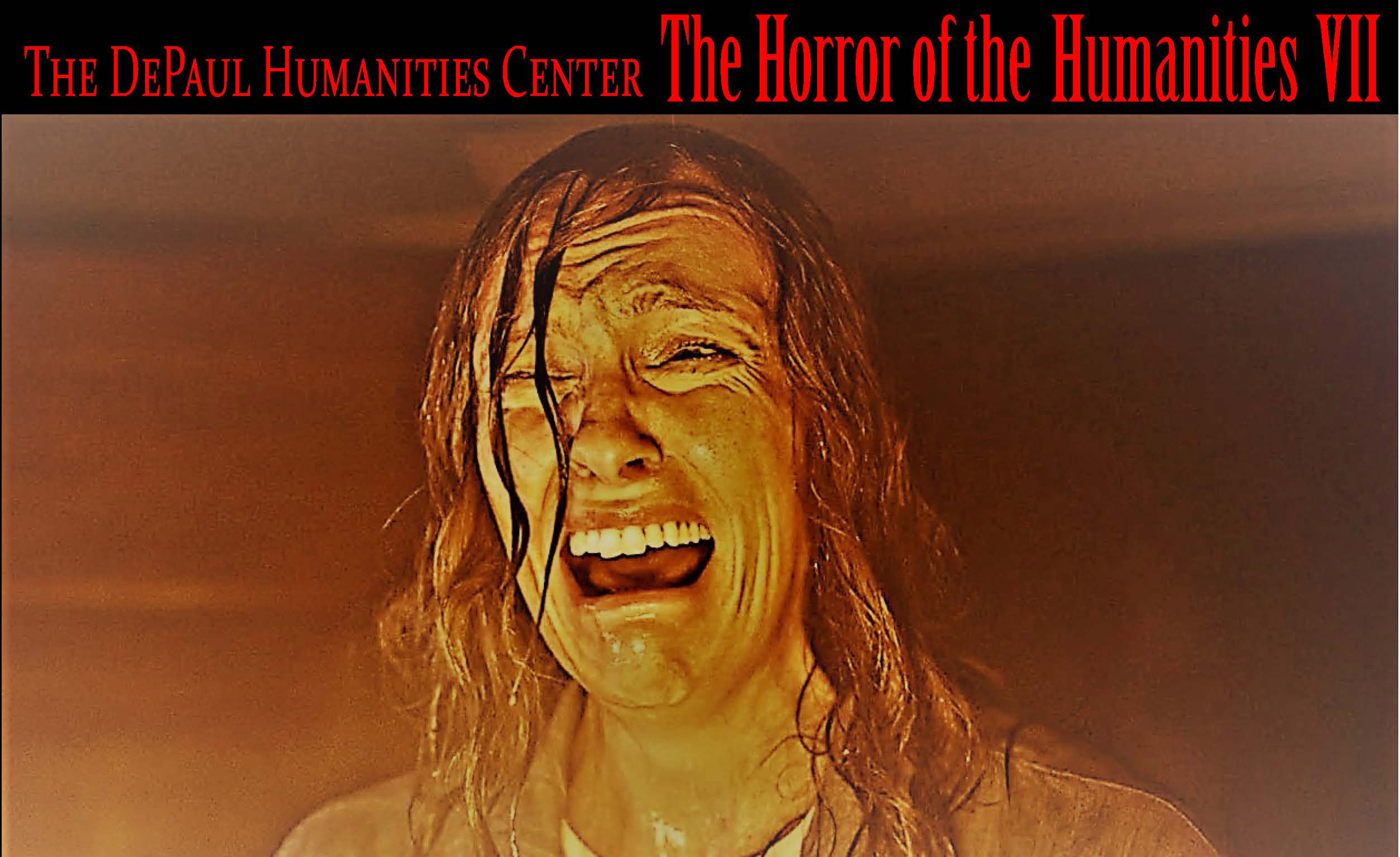 poster image of Horror of the Humanities at DePaul University