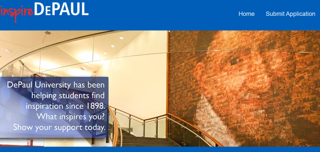 InspireDePaul website