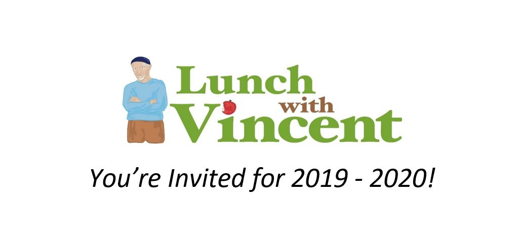 Lunch with Vincent