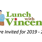 Faculty and staff: RSVP for winter Lunch with Vincent programs