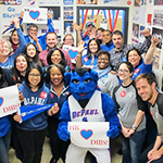 Employees share why they love DePaul this Valentine