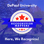 Faculty and staff: Recognition matters