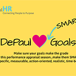 DePaul loves SMART goals