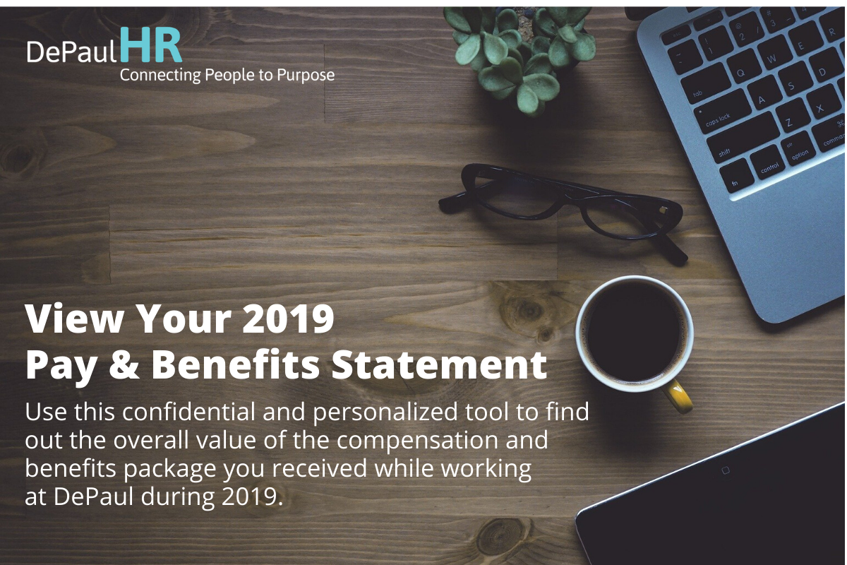 Pay and benefits statements available