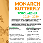 Monarch Butterfly Scholarship applications due May 17