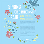 Students: Don't miss the spring job and internship fair