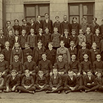 How things were in the beginning: The first fall class of St. Vincent's College