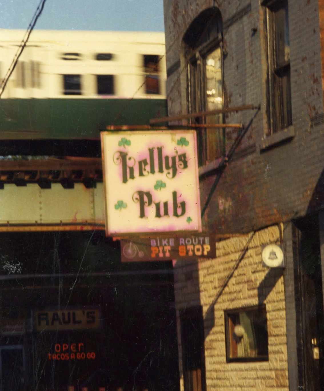 Kelly's Pub in the 1970s
