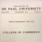 A Twentieth Century Invitation to Success: The College of Commerce