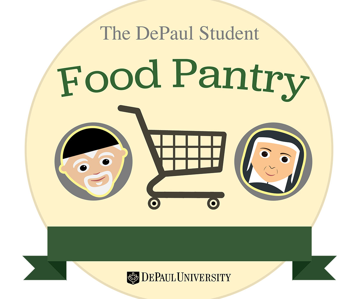 Food pantry at DePaul