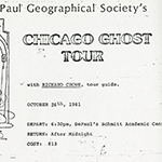 Meet Richard Crowe: DePaul alumnus and ghost hunter