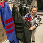 Lydia Marsette: Smoothing the seams at commencement