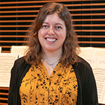 Genevieve Beaulieu: The School of Music's organizational rock star