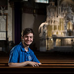 Meet Matthew Verive: Student liturgy coordinator and future information security analyst