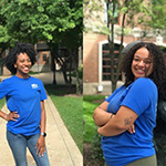 Meet Christine Augustin and Claire Newby: Peer Health Educators caring for the campus community