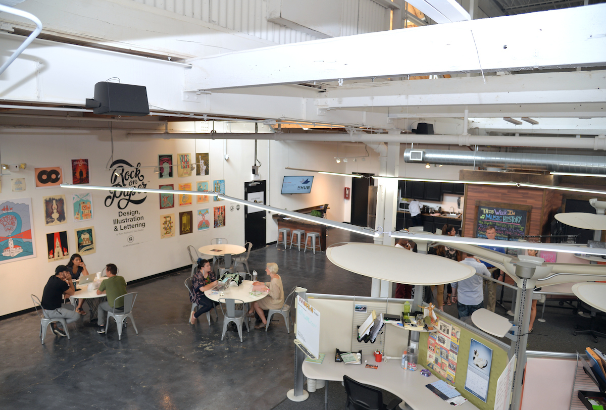 overview of 2112 incubator space