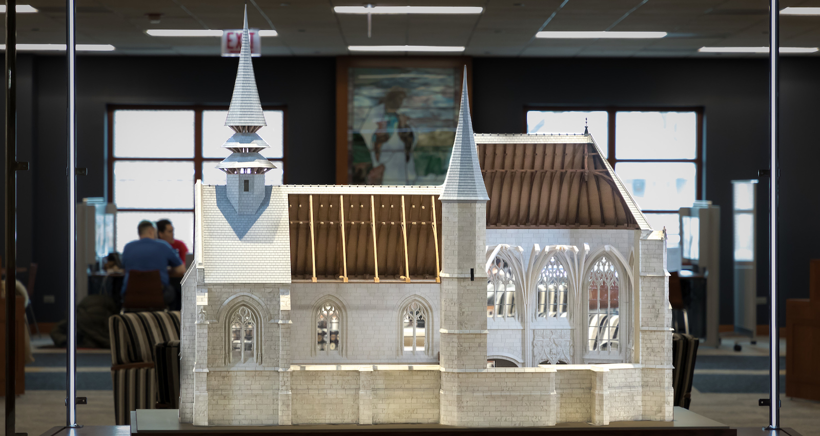 Image of Folleville church model
