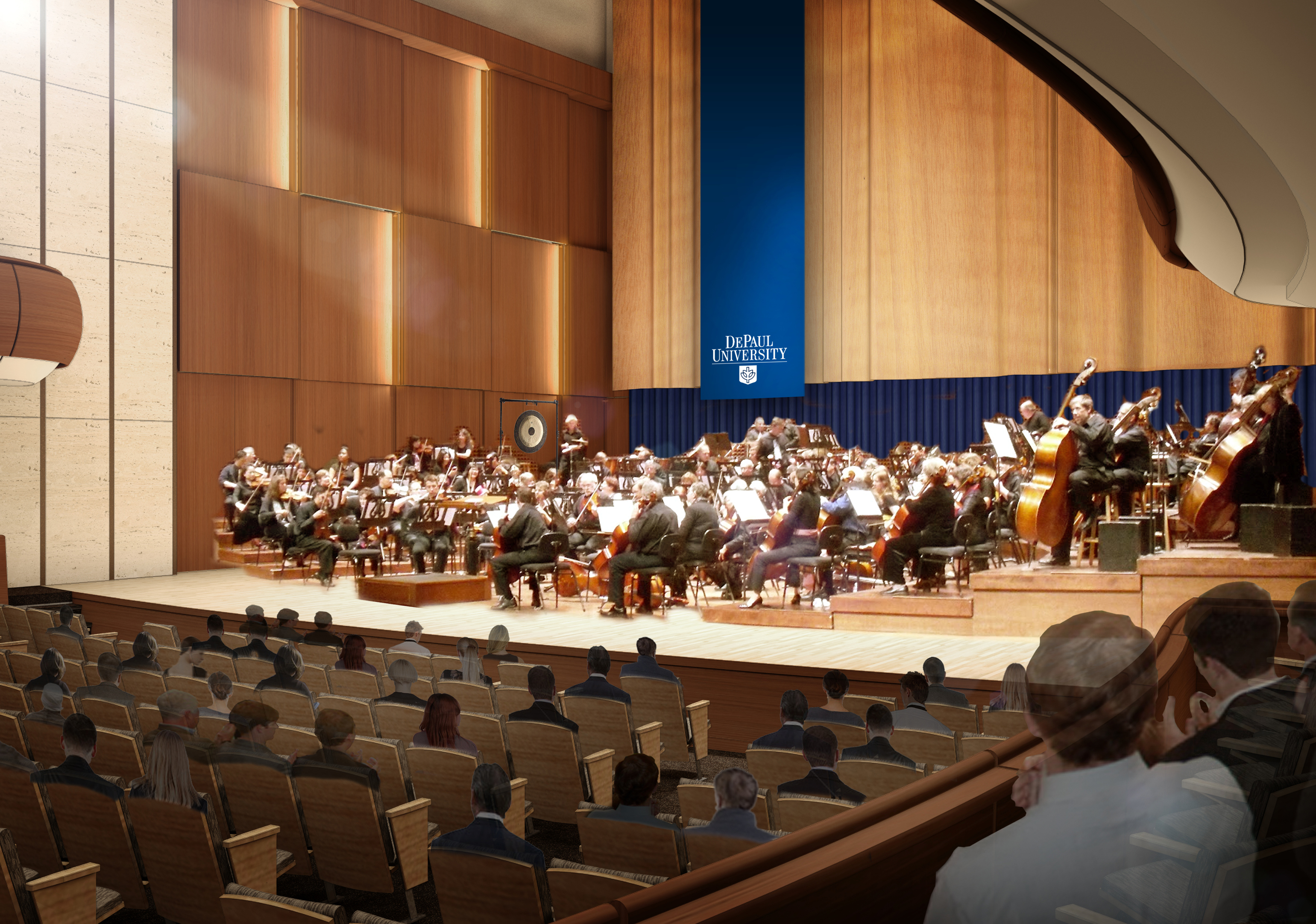William E. and Mary Pat Gannon Hay Concert Hall