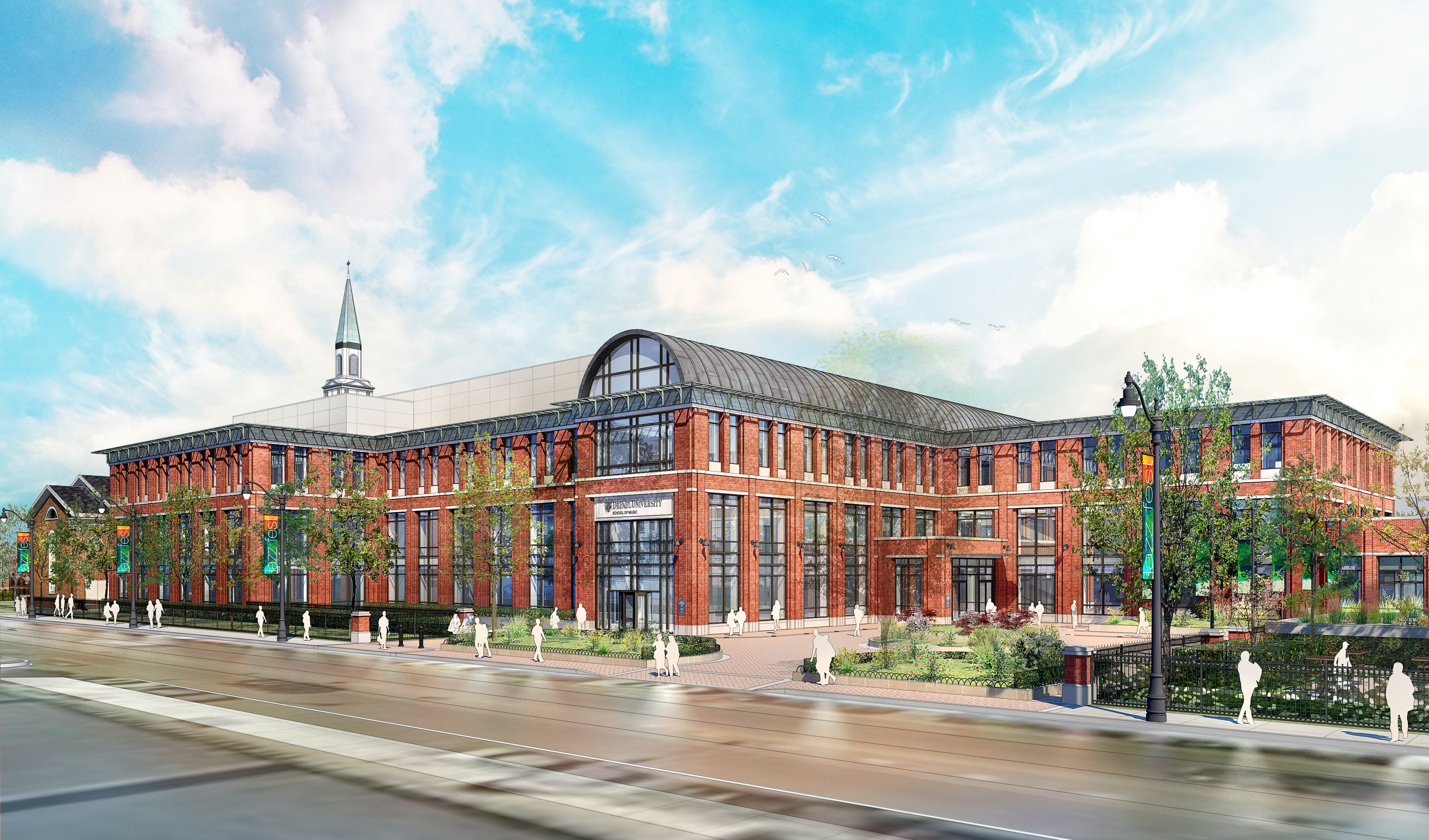 A new School of Music building