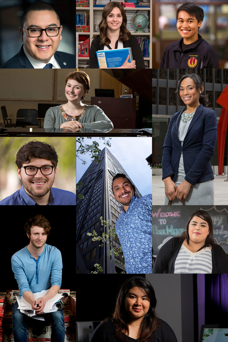 Faces of DePaul grads