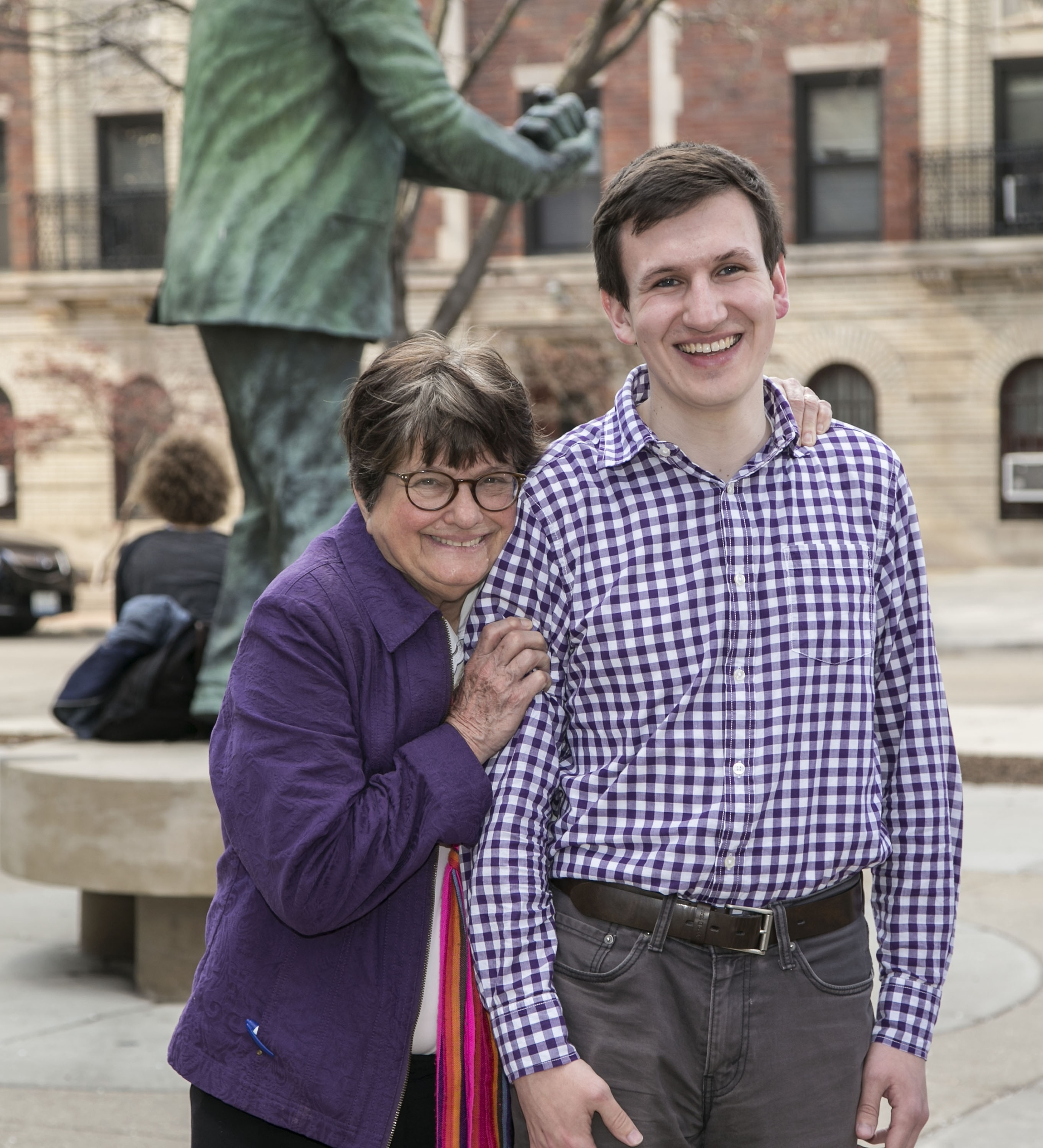 Sister Helen Prejean and Griffin Hardy