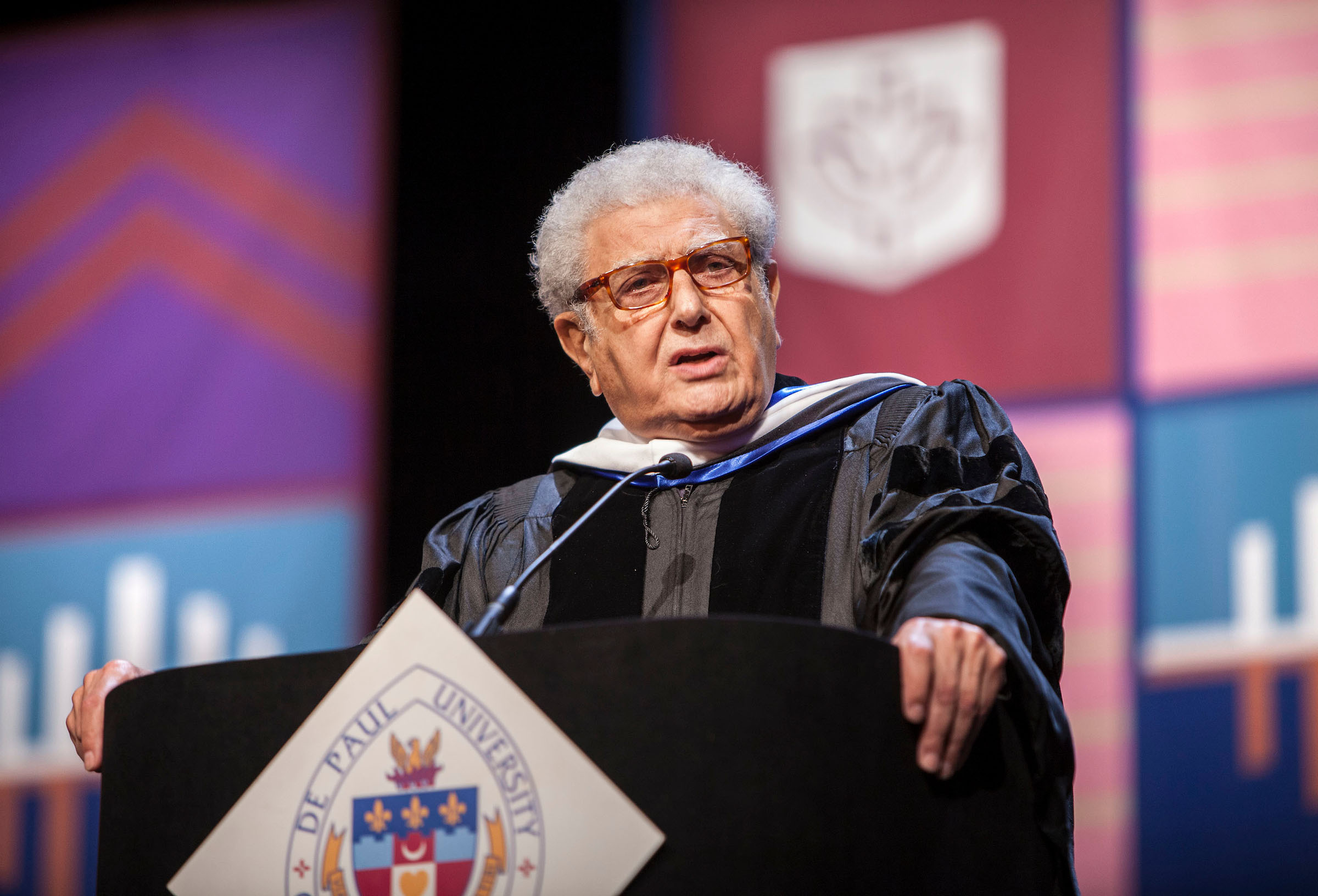 DePaul University Emeritus Professor of Law M. Cherif Bassiouni