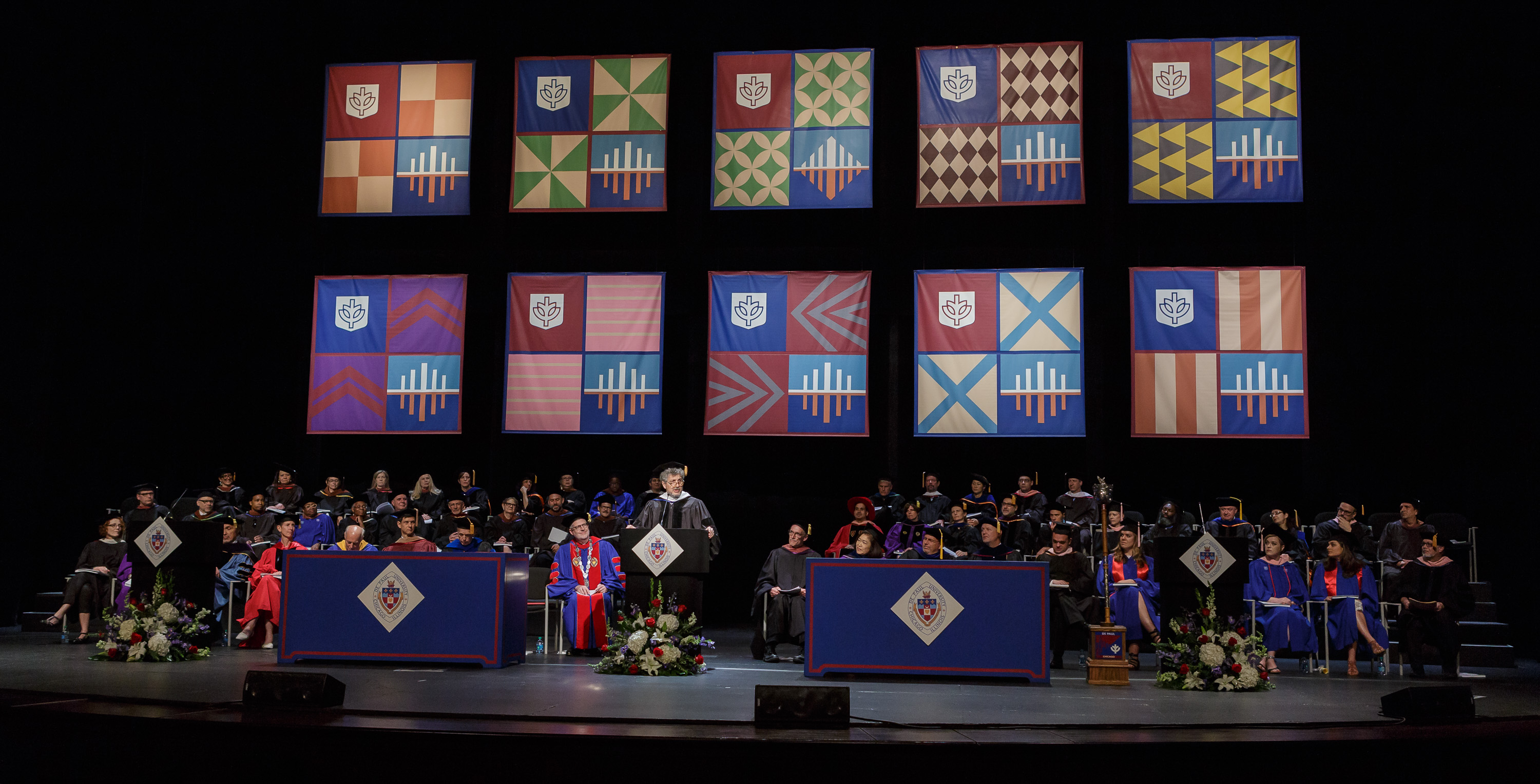 Todd London DePaul Commencement 2016