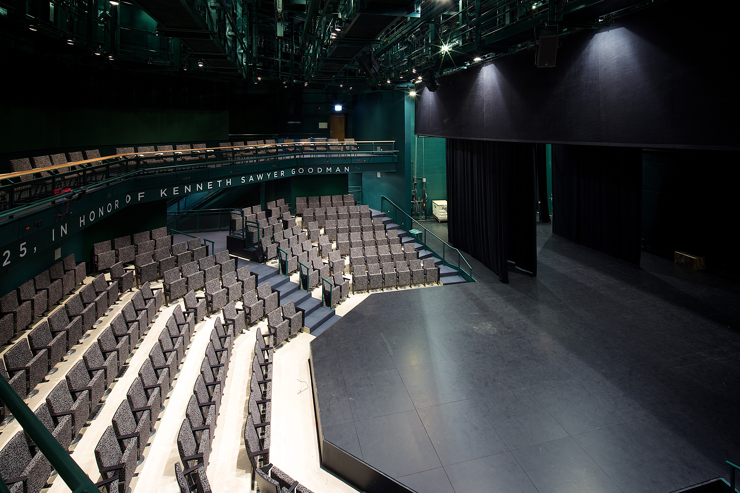 The Theatre School at DePaul University 250-seat thrust theatre