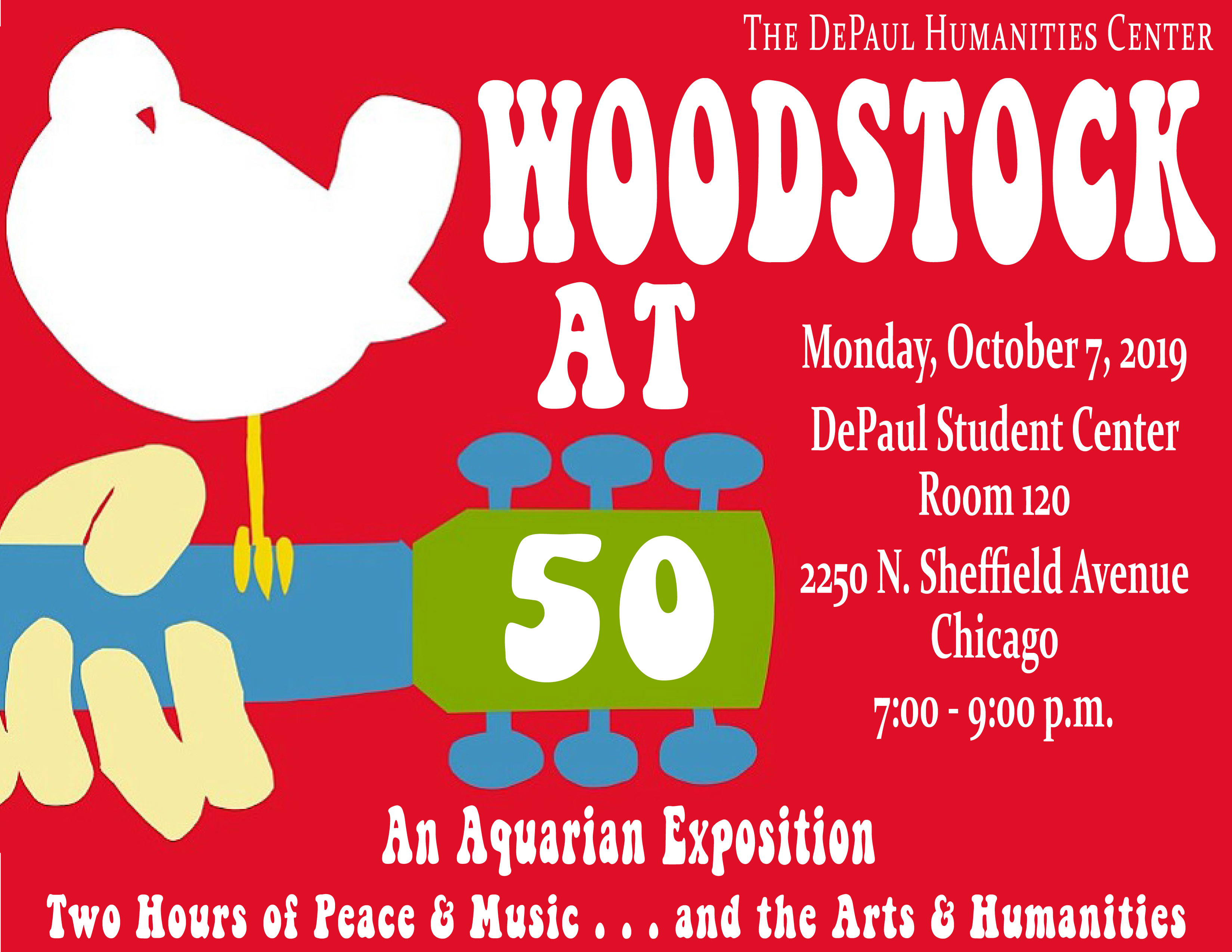 Woodstock at 50 poster