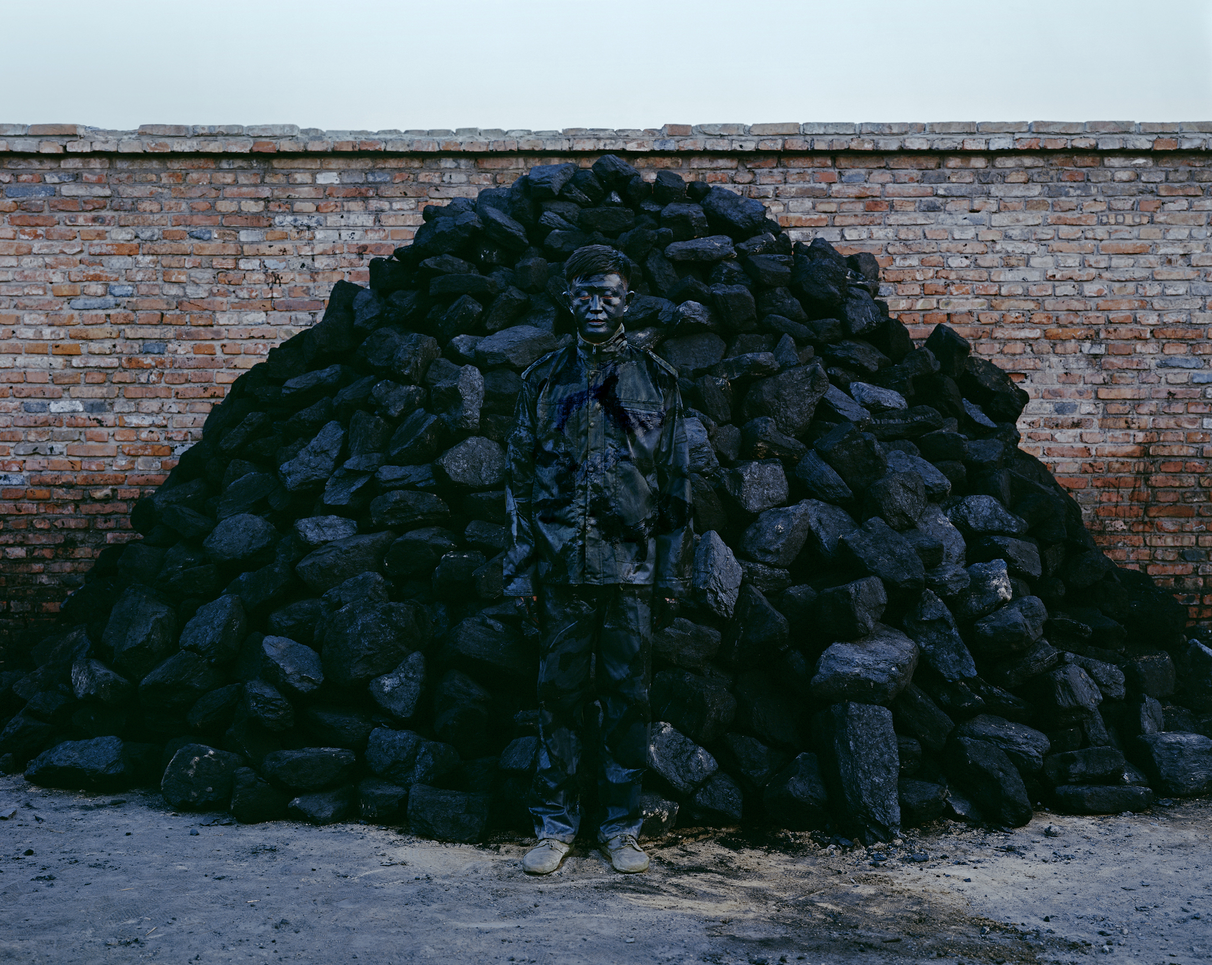 Liu Bolin's Hiding in the City