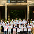 DePaul hosts farewell event for Japanese college students on eve of Tohoku earthquake anniversary