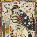 ​DePaul Art Museum features Tony Fitzpatrick's 'The Secret Birds'