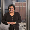 DePaul University names Linda Blakley vice president for the Office of Public Relations and Communications