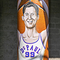 Four new murals under Fullerton 'L' station explore key moments in DePaul University history