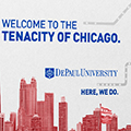 DePaul University to launch new comprehensive brand awareness campaign