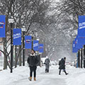 DePaul University extends class cancellation and campus closures through Thursday, Jan. 31, due to extreme weather forecast