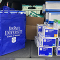 DePaul University nurses donate personal protection equipment to local hospitals