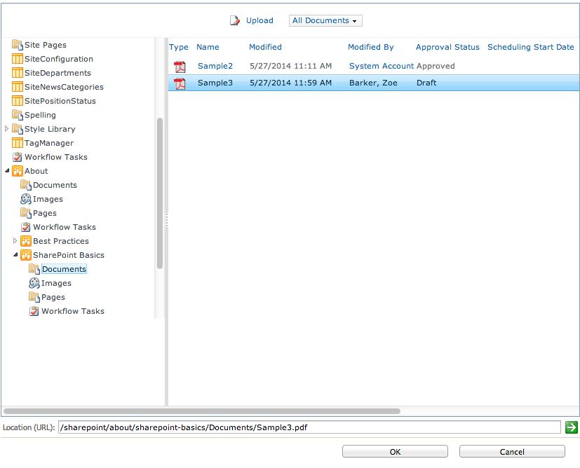 Uploading/Inserting Documents | Basics | SharePoint