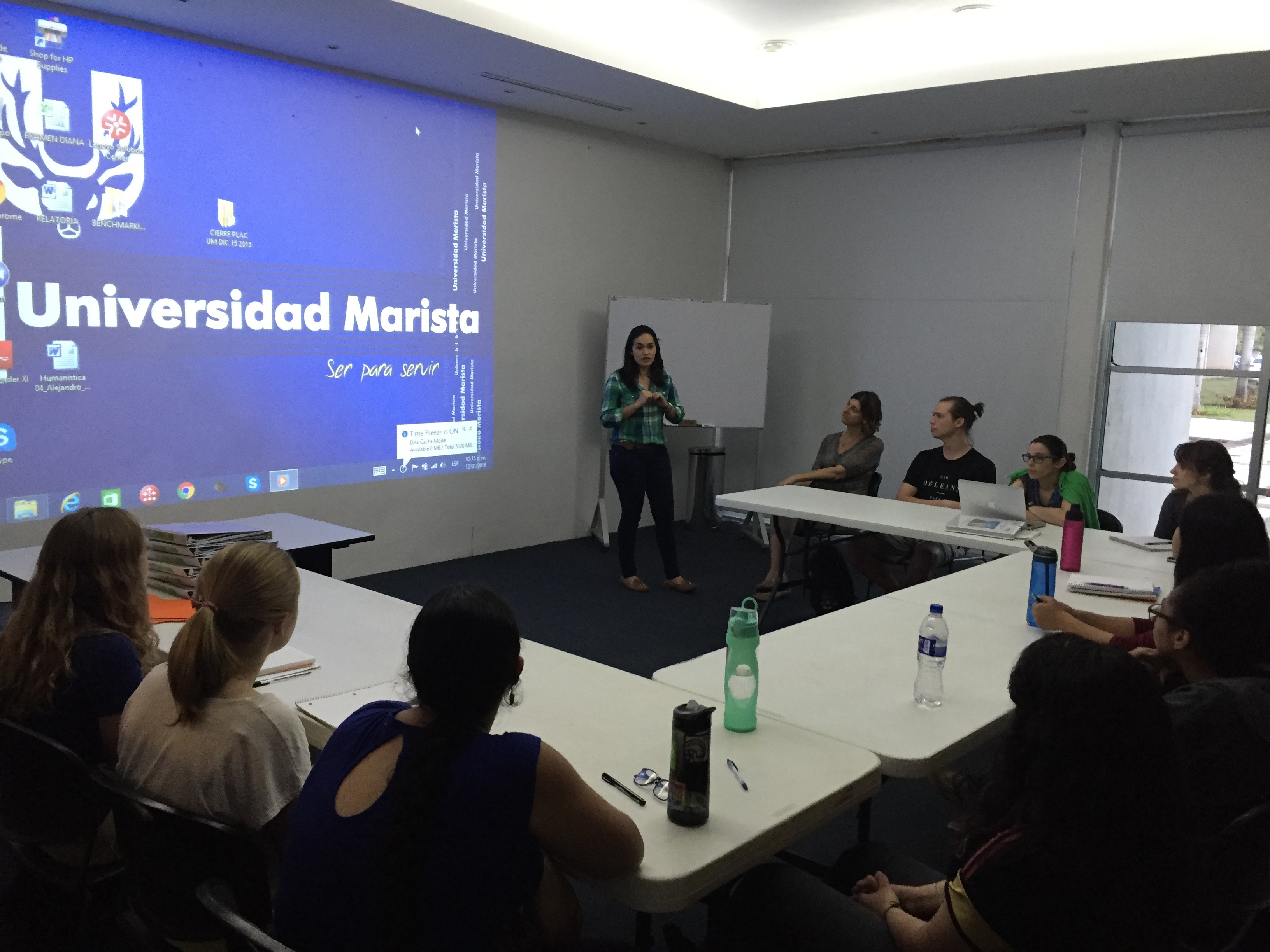 DePaul students study Critical Community Engagement at Universidad Marista