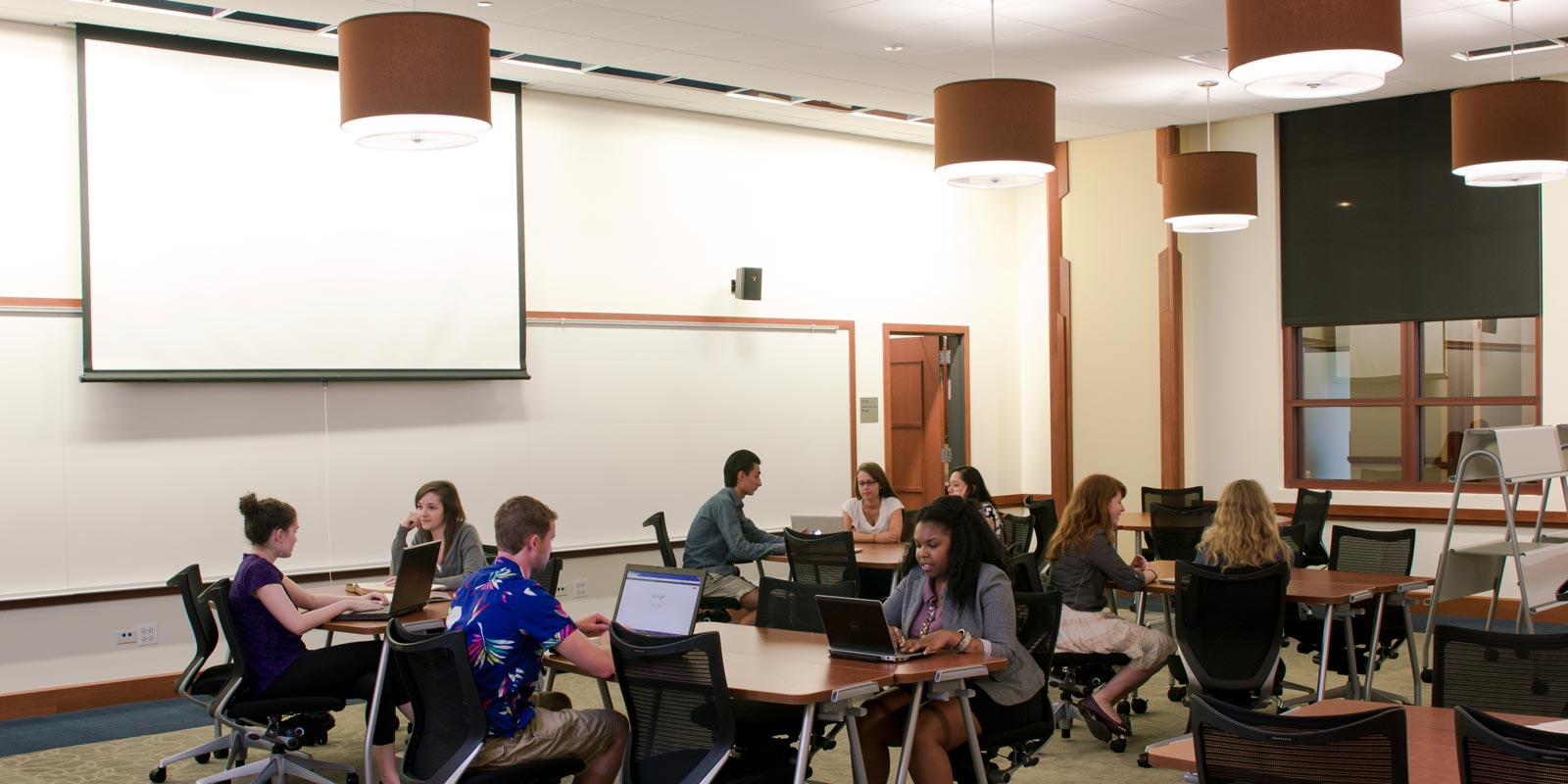 The Learning Commons in the John T. Richardson Library, 1st Floor