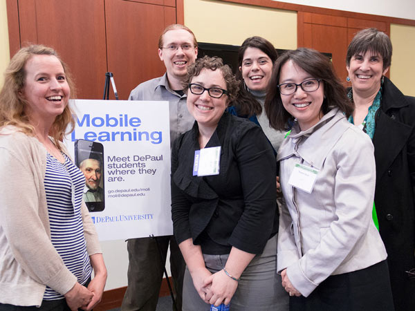 Members of the DePaul Mobile Learning Team