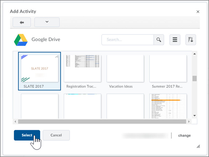 Uploading Files to the Content Area in D2L | Content | Tools