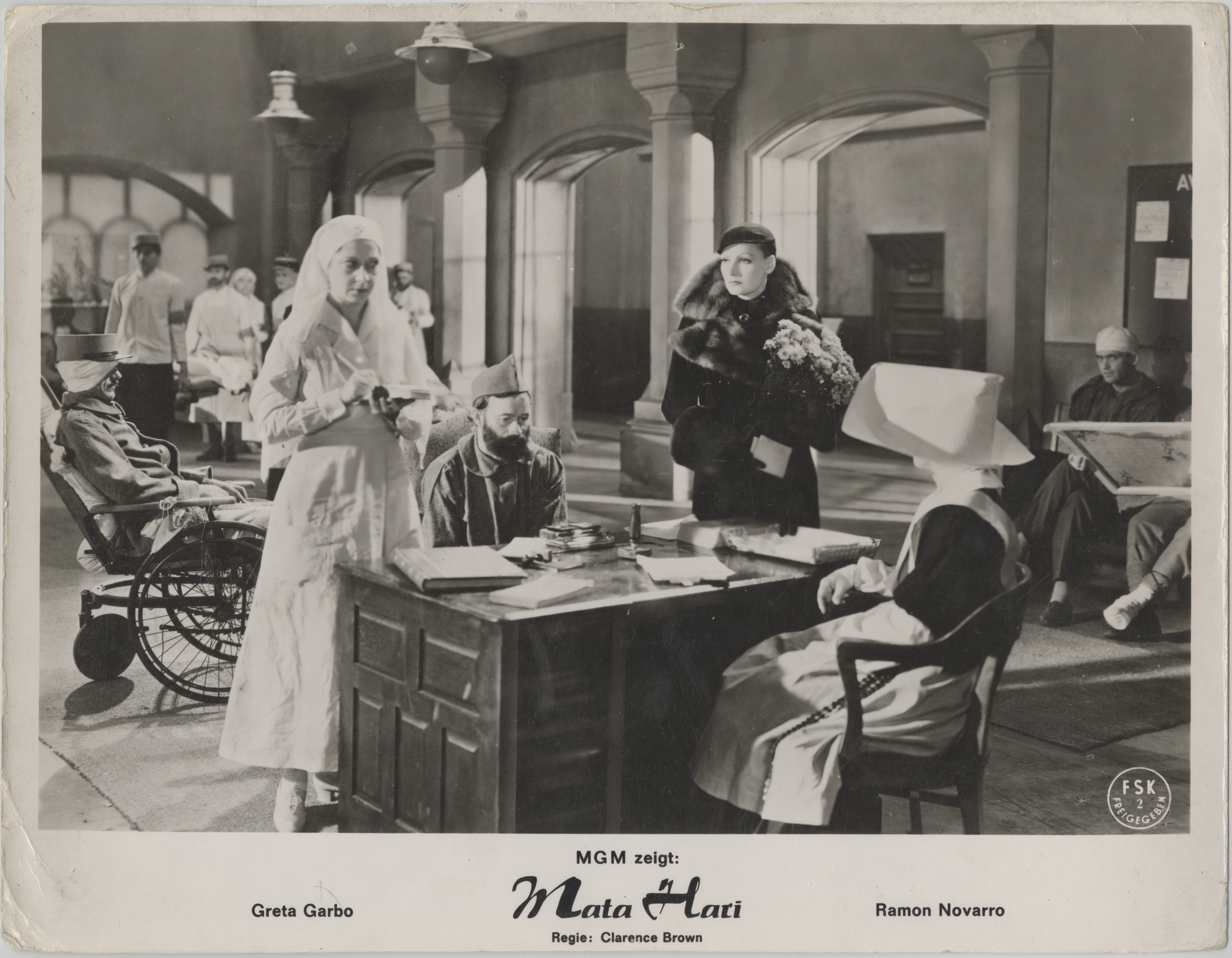 "Scene from movie ""Mata Hari"