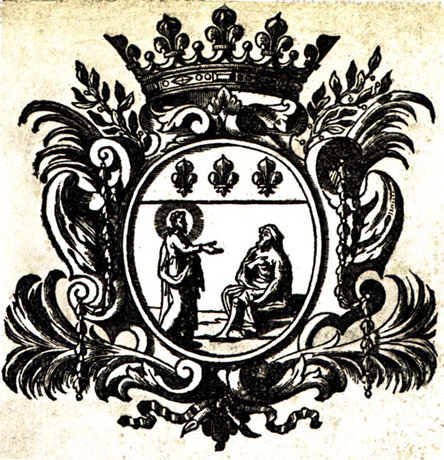 Seal of the Royal Priory of Saint-Lazare