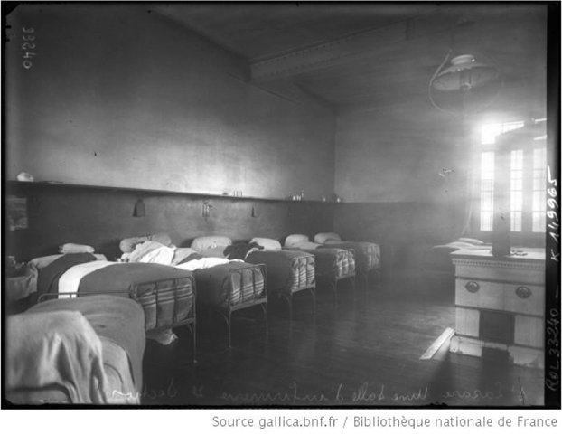 Prison Saint-Lazare, infirmary room, section administrative