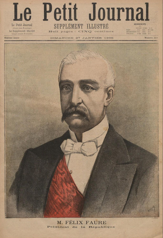 M. Felix Faure President of the Republic