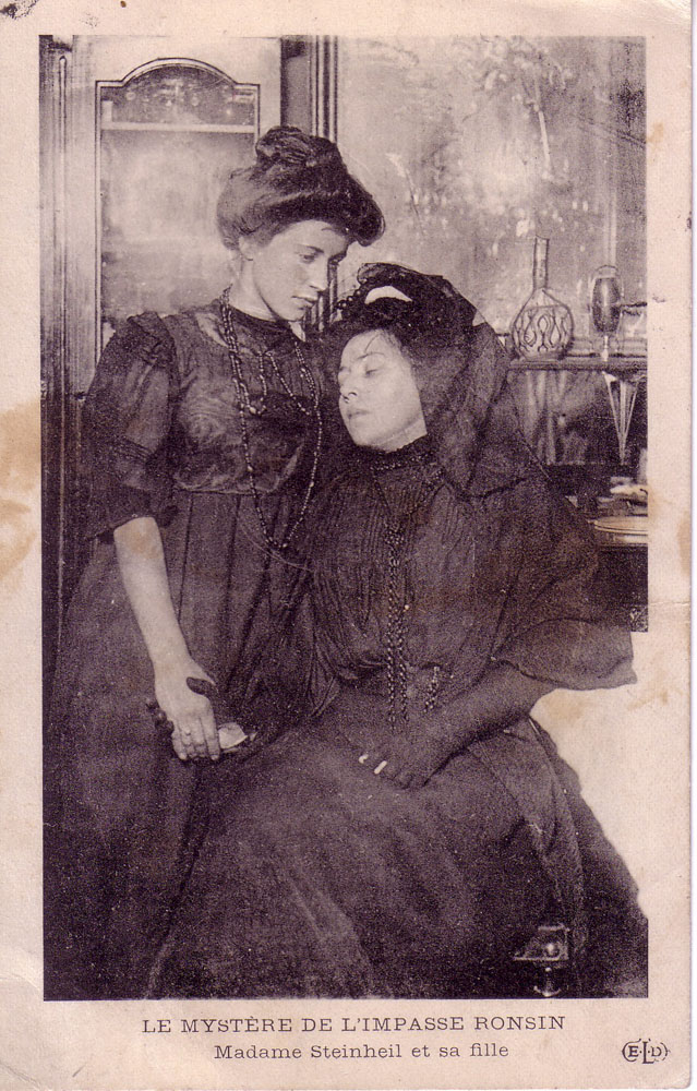 Madame Steinheil and her daughter