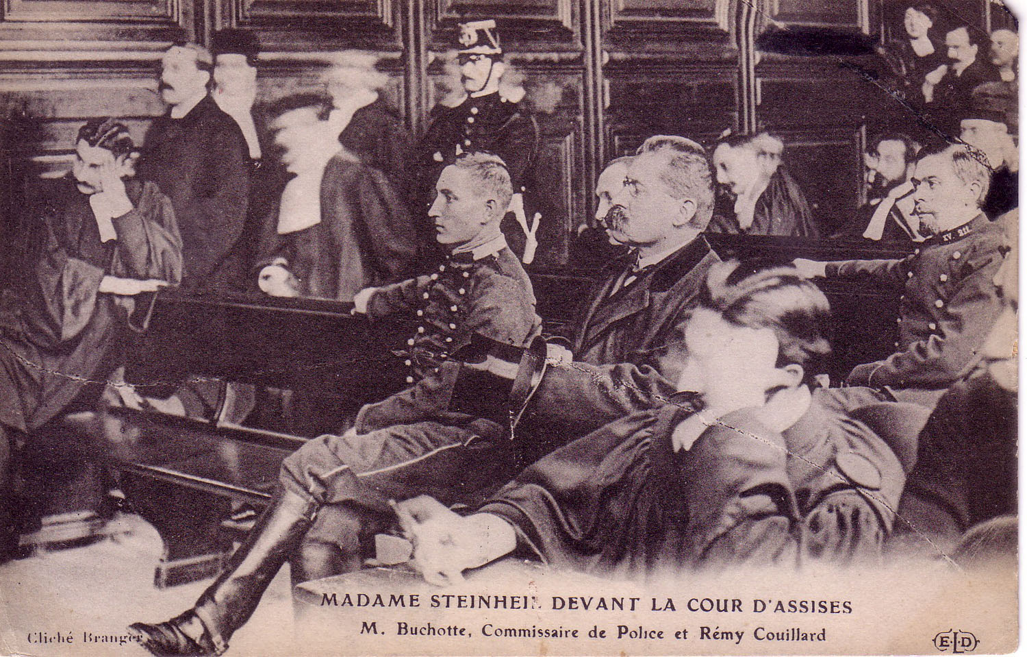 Madame Steinheil's trial at the Court of Assises