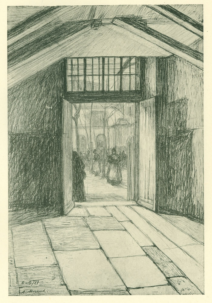 The Casse-Cour passage, called the Casse-Gueule passage during the Terror.